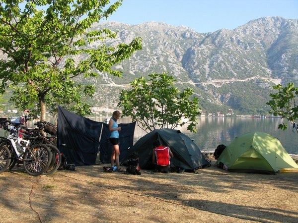 Наш табір біля Моріньї