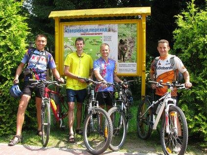 Велосипедом до Беловежської пущі через Брест.