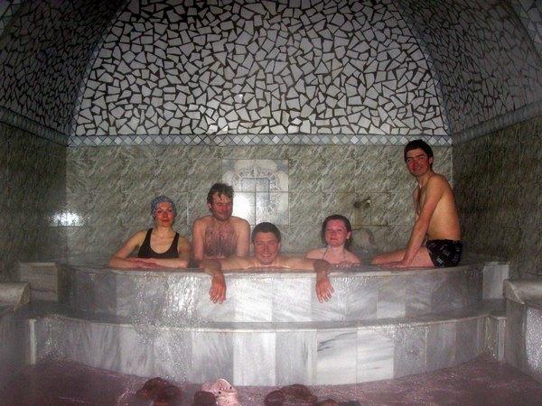Відвідування сірчановодневої бані
