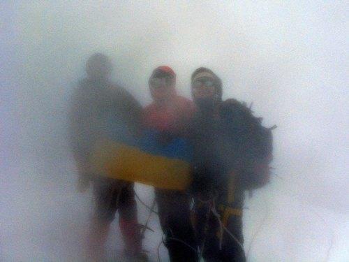 На вершині Казбек (5033 м.)